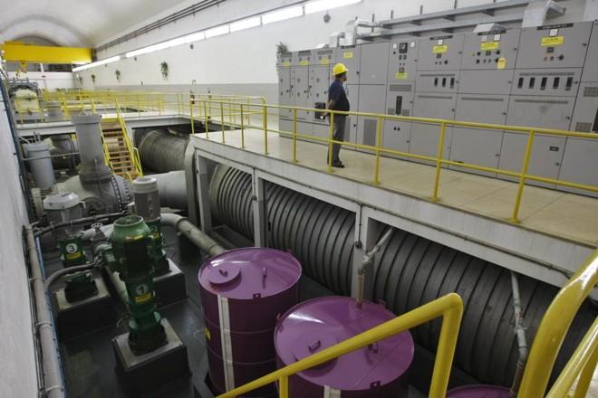 Hidrelétrica Parigot de Souza:dois terços da receita que a Copel terá com a usina servirão para recuperar bônus pago à União. | Daniel Castellano/Gazeta do Povo