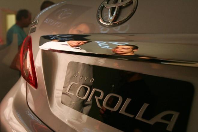 A Toyota vendeu até outubro 118,6 mil veículos, 1,6% a menos que em 2014 | Daniel Castellano/Gazeta do Povo