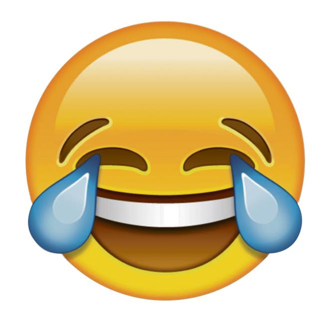 Resultado de imagem para emoji chorando de rir