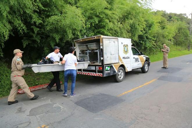 Corpo estava em uma trilha próximo à Alameda Burle Marx | Pedro Serapio/Tribuna do Paraná