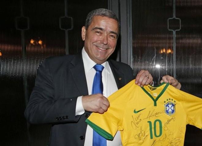 Deputado federal Marcus Vicente pretende barrar rival de Del Nero na CBF. | Rafael Ribeiro/CBF