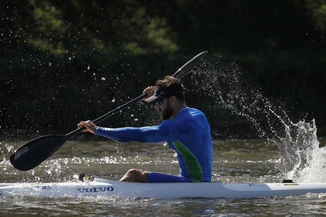 Roberto Maehler: paranaense sonha em participar da primeira Olimpíada. | Jonathan campos/Jonathan Campos