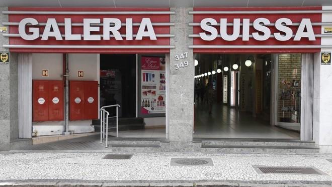 Entrada da Rua José Loureiro: ponto comercial começou com as instalações de uma loja de material elétrico. | Fotos: Henry Milleo / Gazeta