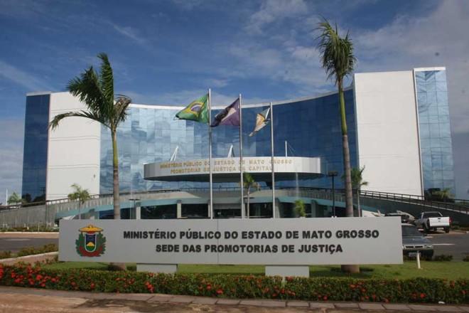 Sede do Ministério Público do Mato Grosso: caso de supersalários no mês de dezembro. | Divulgação