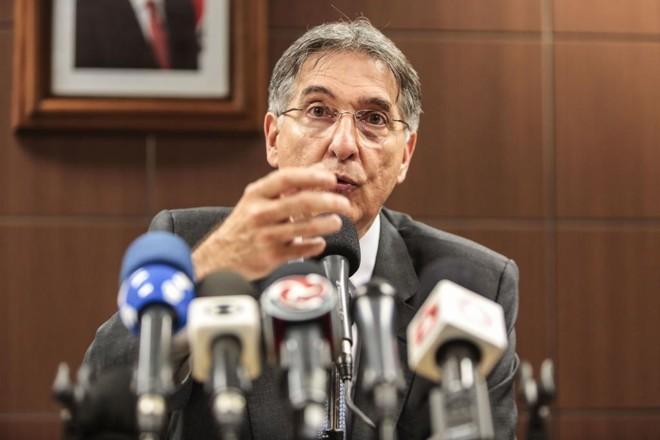 Fernando Pimentel, governador de MG.   Manoel Marques/imprensa-MG