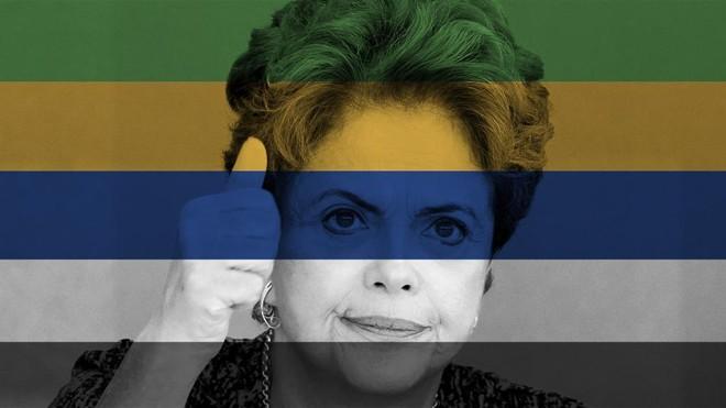 Presidente Dilma Rousseff no alvo do processo de impeachment. | Evaristo Sá/AFP