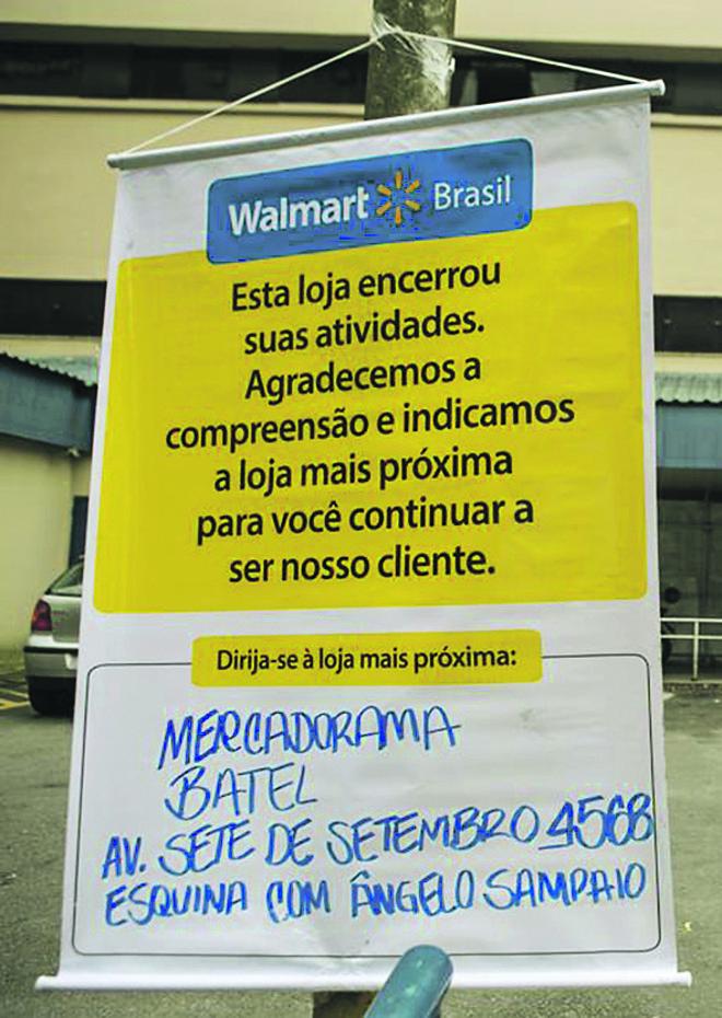 Em Curitiba, região e litoral, oito lojas encerraram as atividades no dia 31 de dezembro de 2015 | Marcelo Andrade/Gazeta do Povo