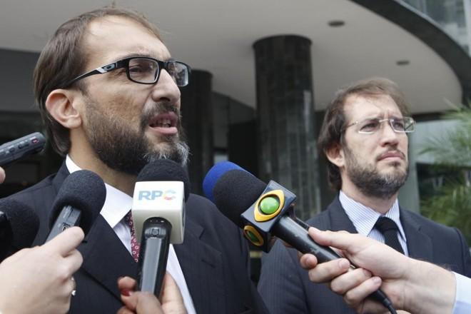 Marlus Oliveira, advogado do ex-presidente da Camargo Correa Dalton Avancini, quer um acordo mais brando para o seu cliente. | Aniele Nascimento / Gazeta do Povo