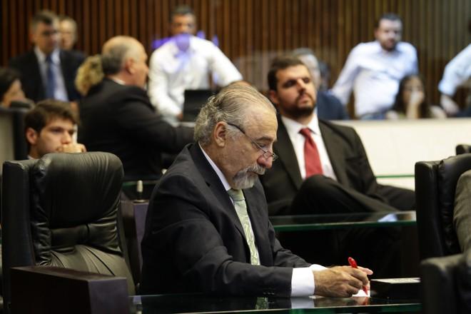 O deputado estadual Rasca Rodrigues (PV) | Daniel Castellano/Gazeta do Povo