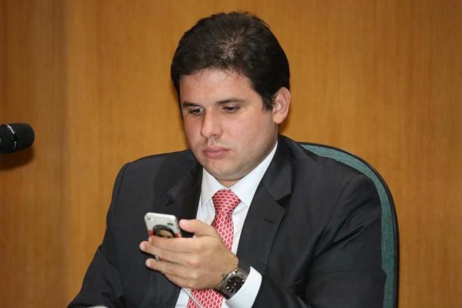 Deputado Hugo Motta tem apoio de Eduardo Cunha. | Ivonaldp Alexandre/Gazeta do Povo