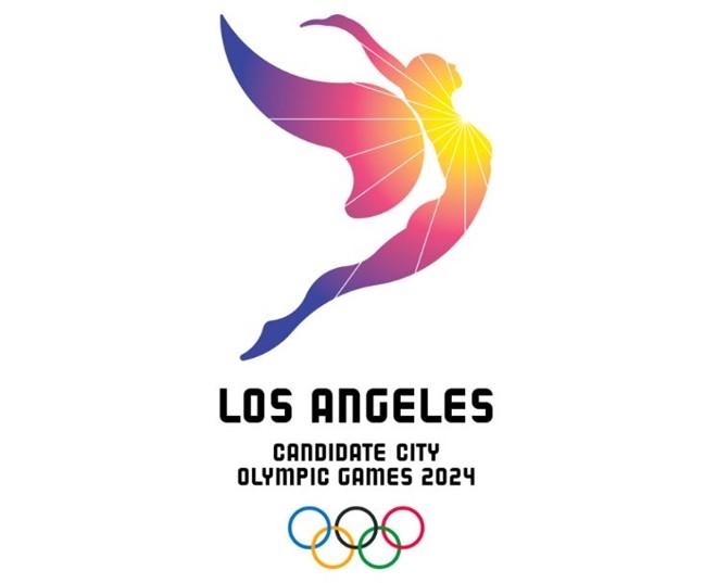 Logo da candidatura de Los Angeles para receber a Olimpíada pela terceira vez. | /