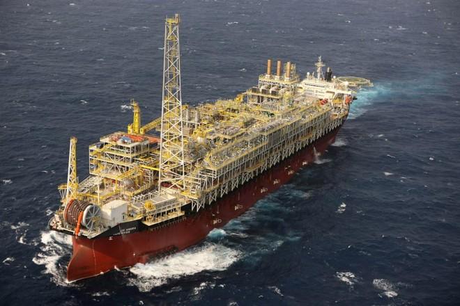 Plataforma de exploração de petróleo da Petrobras: semana passada mesmo, a empresa deu os primeiros passos para sua retirada do setor elétrico | ABR/Petrobras
