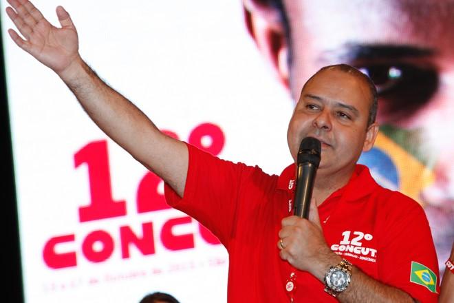 Vagner Freitas, presidente da CUT: na mira da Operação Lava Jato. | Dino Santos/CUT