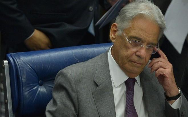 FHC, ex-presidente da República. | Wilson Dias/ABR