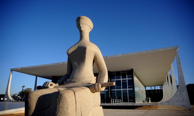Fachada do Supremo Tribunal Federal (STF) em Brasília. | PedroLadeira/AFP
