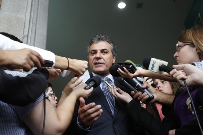 Governador diz que respeita autonomia dos demais Poderes. | Henry Milleo/Gazeta