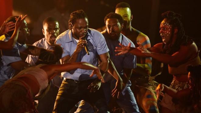 Kendrick Lamar, vencedor de cinco prêmios | Robyn Beck/AFP