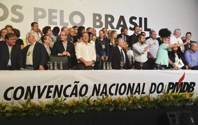 PMDB tem desenhado um plano caso Michel Temer assuma a presidência no lugar de Dilma Rousseff. | Valter Campanato/Agência Brasil