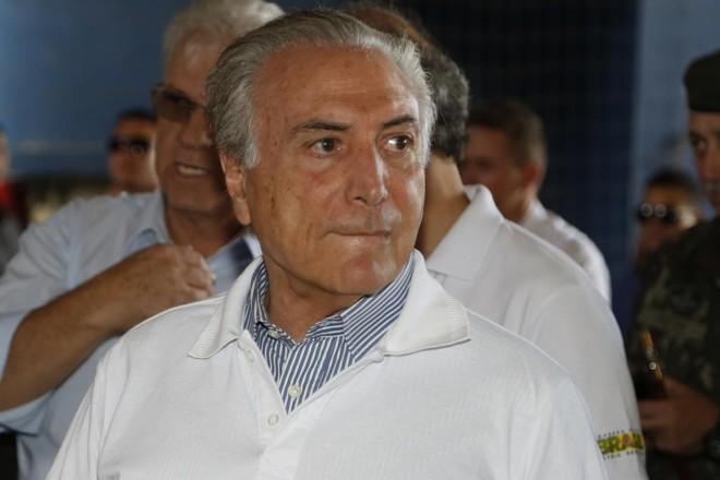 Michel Temer comandou o desembarque do PMDB do governo Dilma, oficializado nesta terça-feira (29). | Henry Milleo/Gazeta do Povo