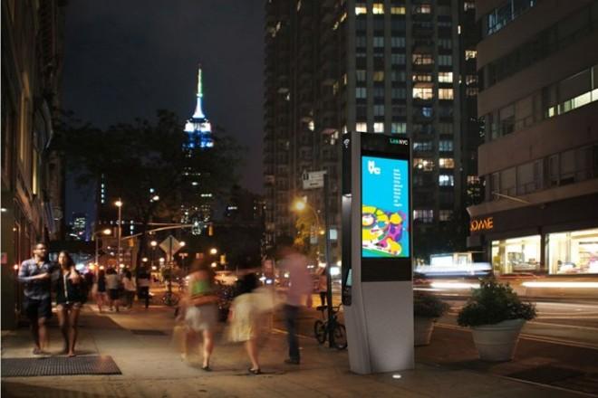 Governo dos Estados Unidos e o Sidewalk Labs, do Google, que ajudaram a financiar o projeto LinkNYC (foto), se juntaram para acabar com os congestionamentos. Resposta é um novo software. | LinkNYC/Reprodução