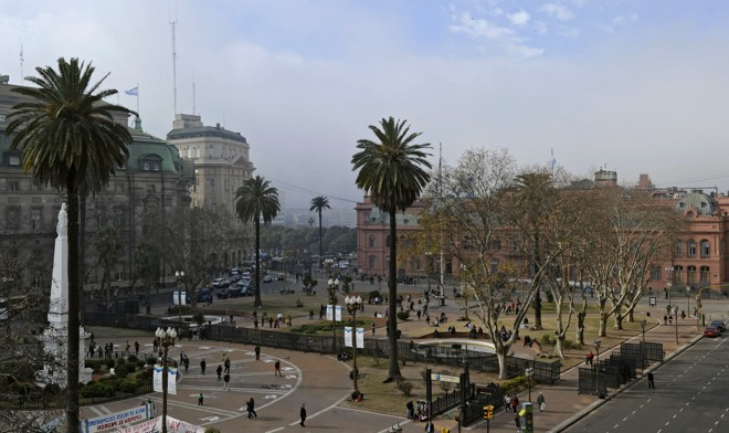 Praça de Maio | mab/pa/JUAN MABROMATA