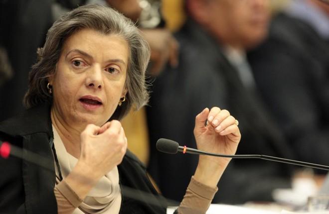 Ministra Cármen Lúcia diz que Lava Jato não é pautada por interesses políticos. | Carlos Humberto/STF