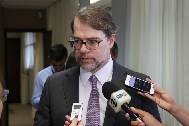 Toffoli, considerado um ministro do STF alinhado com o governo, afirmou que o impeachment é um mecanismo legal | Pedro Serapio/Gazeta do Povo