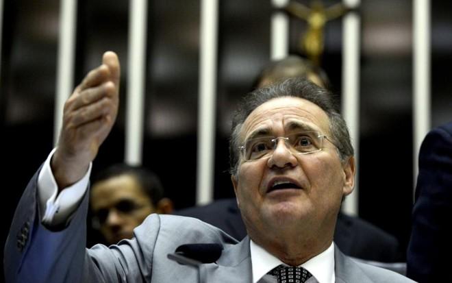 Senador Renan Calheiros não quis comentar sobre posição dele a respeito do impeachment. | Valter Campanato/Agência Brasil/Fotos Públicas