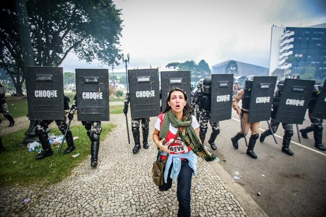 Fez o que qualquer um faria - correu. | Daniel Castellano/Gazeta do Povo