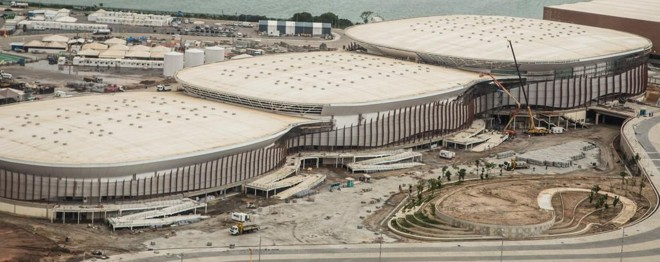 Arenas do Parque Olímpico: há vagas para trabalhos durante os jogos. | Renato Sette Camara/ Prefeitura do Rio