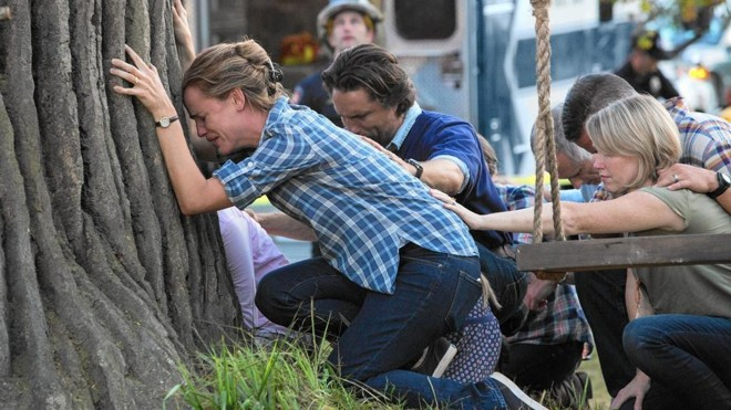 Jennifer Garner interpreta mãe que diz ter presenciado um milagre   Divulgação/