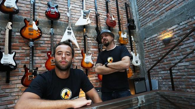 A escola de música Academia do Rock, de Curitiba, busca franqueados no Paraná, São Paulo e Santa Catarina | Ivonaldo Alexandre/Gazeta do Povo