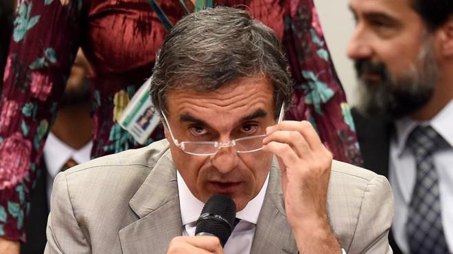 José Eduardo Cardozo disse que processo de impeachment contra Dilma é golpe. | Evaristo Sá/AFP
