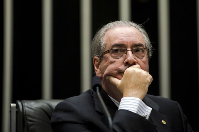 Eduardo Cunha, presidente da Câmara: troca de farpas com ministro do Supremo. | Marcelo Camargo/Agência Brasil
