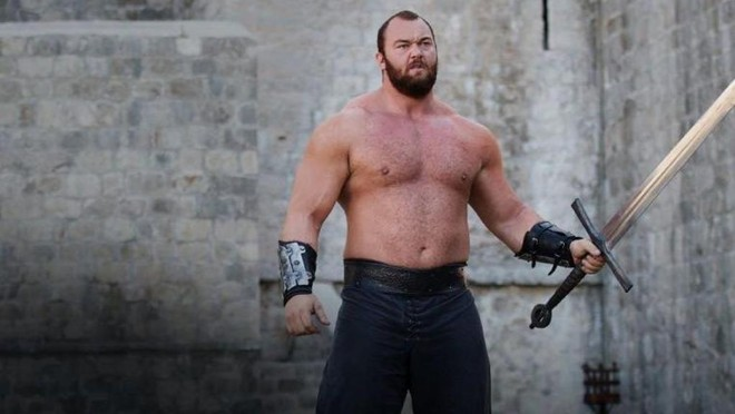 Ator usou conta no Instagram para  divulgar como é sua alimentação para se tornar o homem mais forte do mundo   Divulgação/HBO