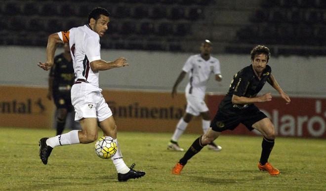 O atacante Fred marcou dois gols contra a Ferroviária, mas o Fluminense acabou empatando por 3 a 3 fora de casa.   Nelson Perez/Fluminense/Divulgação
