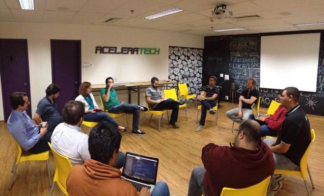 Empreendedores em São Paulo participaram de mentoria com Claudio Gora, fundador da Locaweb | Reprodução/Facebook