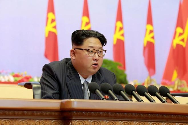 Kim, 33 anos, deve usar o congresso do Partido dos Trabalhadores da Coreia para ampliar seu poder, colocando nomes mais leais a ele em órgãos centrais   KCNA/Divulgação