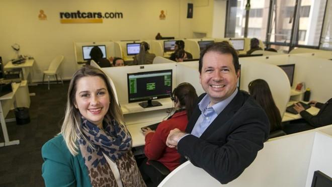 Rentcars.com cresceu 120% em 2015 investindo na oferta internacional. | Marcelo Andrade/Gazeta do Povo