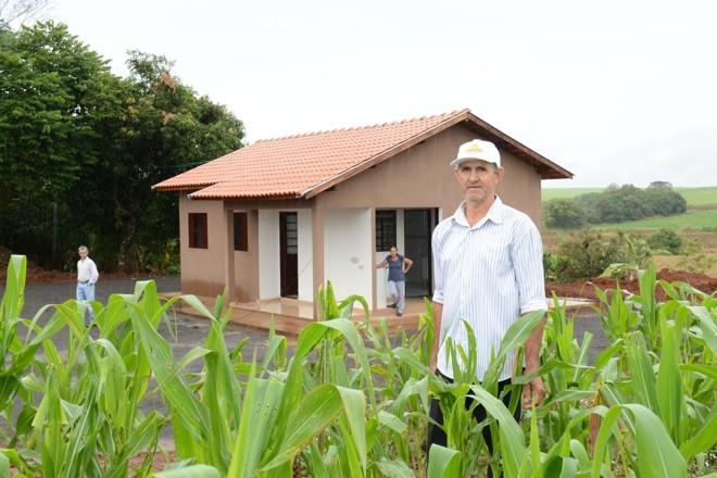 Mais de 10 mil casas já foram entregues pelo Programa Habitação Rural no Paraná.   Emater/Divulgação