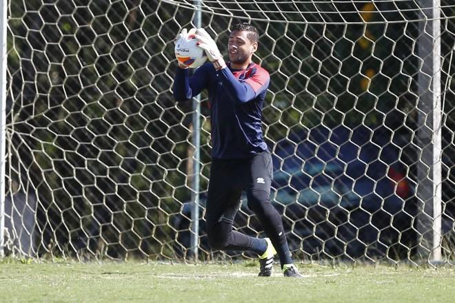 Wendell ganha oportunidade contra o Vila Nova.   Aniele Nascimento/Gazeta do Povo