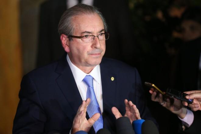 Cunha tem reagido de forma  irritada ao conselho de renunciar. | Fabio Rodrigues Pozzebom/Agência Brasil