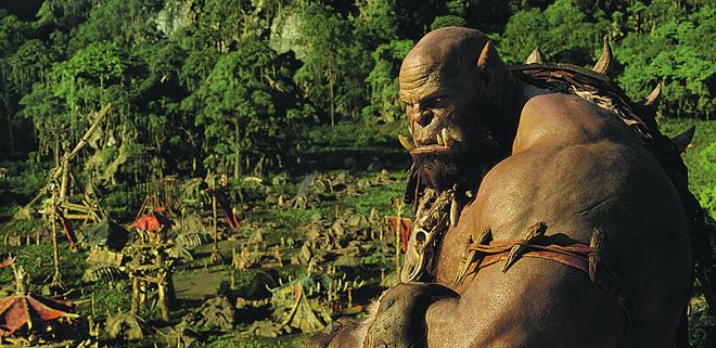 """""""Warcraft"""" resume, sem grandes explicações, conflito entre orcs e humanos.   Divulgação"""