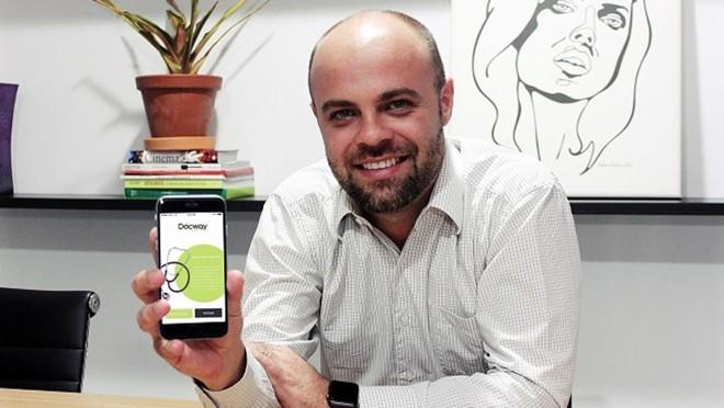 Fabio Tiepolo contou com um investimento de R$ 200 mil para lançar a Docway no mercado | Divulgação/