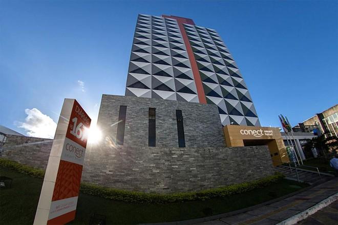 R$ 3,9 milhões em cotas  do hotel Conect Smart em Salvador foram leiloadas | Divulgação/