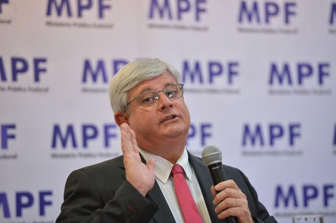 Janot foi homenageado pelo Conselho Nacional do MP.   Elza Fiúza/Agência Brasil