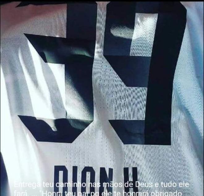 Dion com a camisa 39? | /
