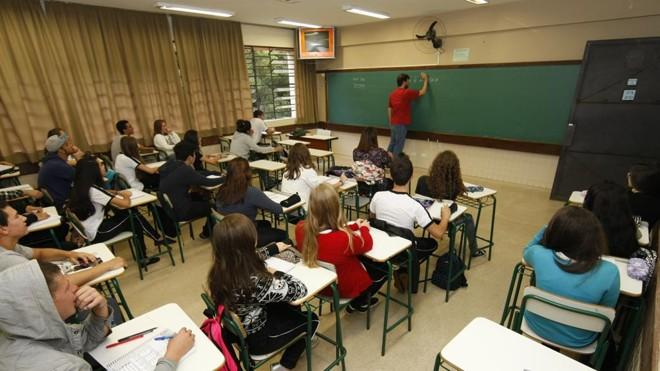 Edital oferece vaga para professores em  todas as cidades do estado | Aniele Nascimento/Gazeta do Povo