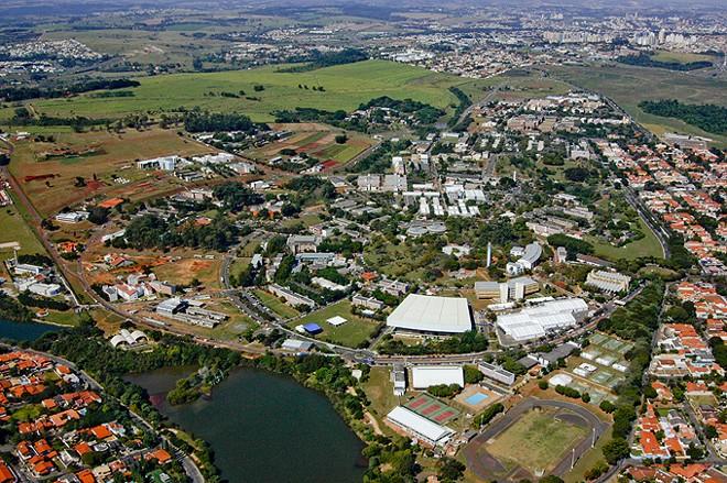 O grupo é formado por estudantes do Instituto de Economia da instituição. Na foto, uma vista aérea de instituição | Unicamp/Divulgação