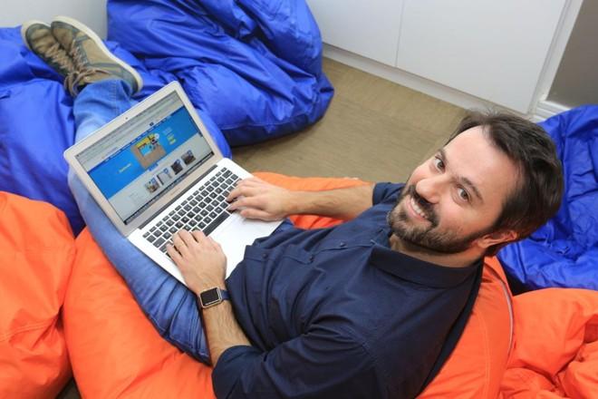 Daniel Scandian, CEOda MadeiraMadeira, que vende materiais de construção e móveis pela internet. | Ivonaldo Alexandre/Gazeta do Povo